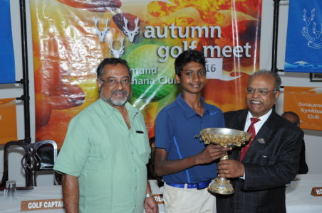 AUTUMN GOLF MEET 2016- CENTENARY WINNER