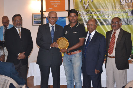 Abhijith Shetty - The Dunlop Shield - Gross Winner