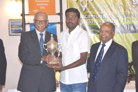 N.Mahesh Kumar -  Khems & G.B.Nahar Memorial Trophy -  Nett Winner