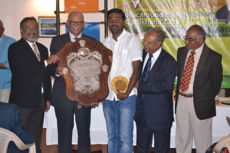 N.Mahesh Kumar - The Dunlop Shield - Nett Winner