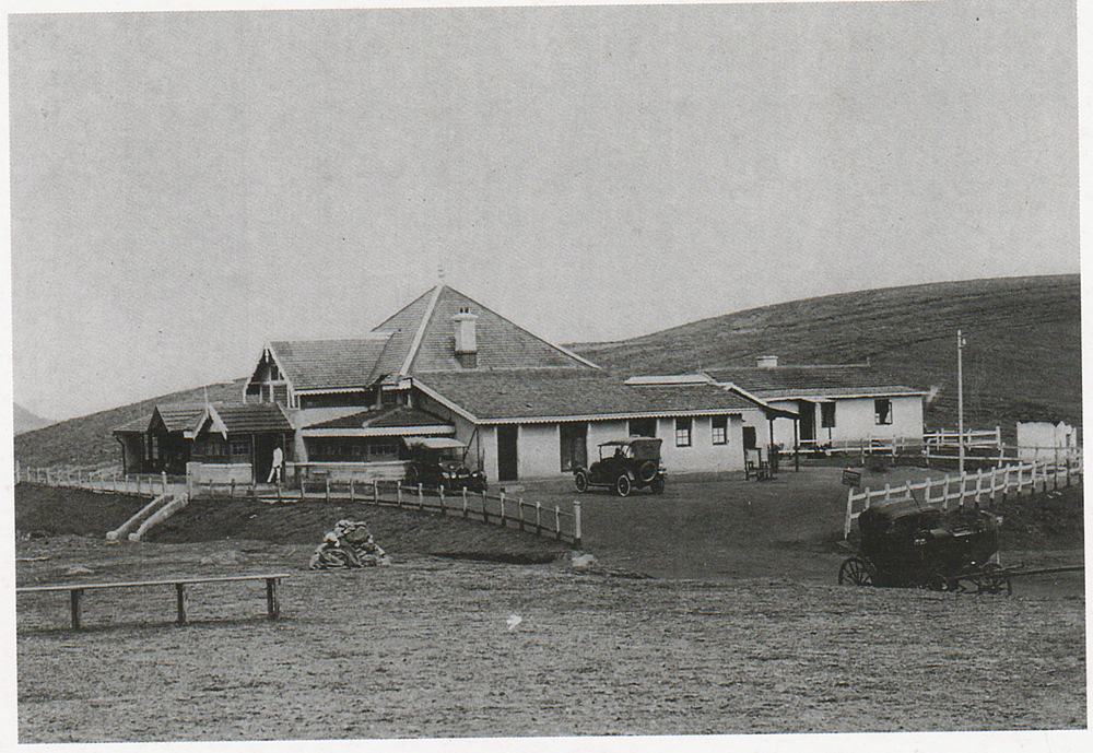 exterior view of club house in 1920